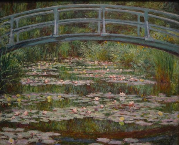 Monet's Japanese Footbridge, 1899
