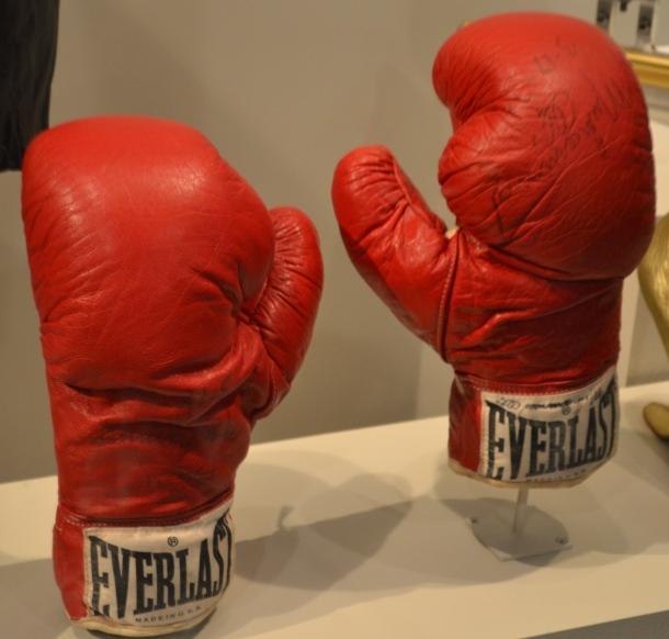 Muhammad Ali's boxing gloves