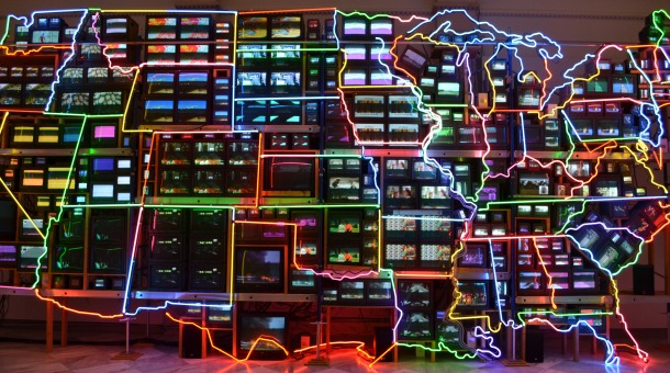 Nam June Paik's Electronic Superhighway