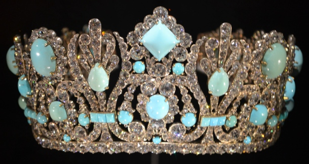 The diadem Napoleon gave his second wife