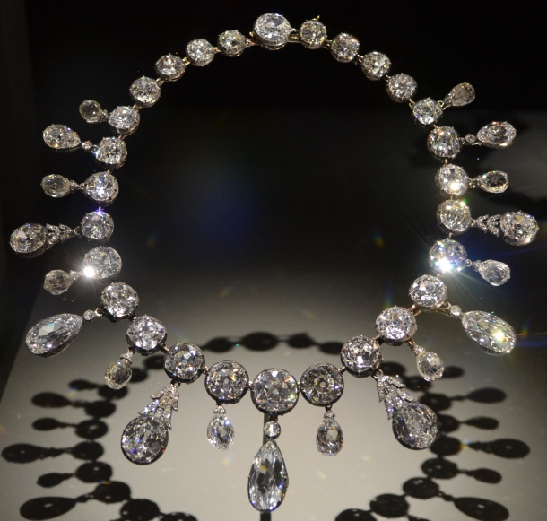 The necklace Napoleon gave his second wife