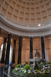 The West Building's rotunda