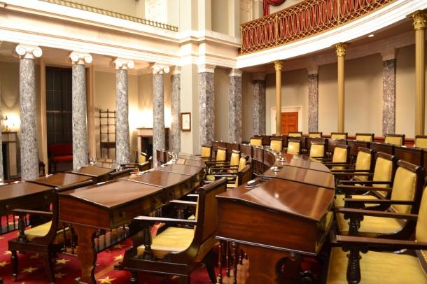 Inside the U.S. Capitol's Old Senate Chambers