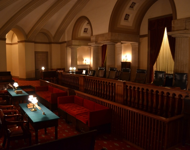 Inside the Old Supreme Court Chambers in the U.S. Capitol
