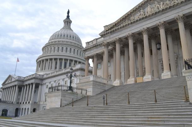 Outside the U.S. Capitol