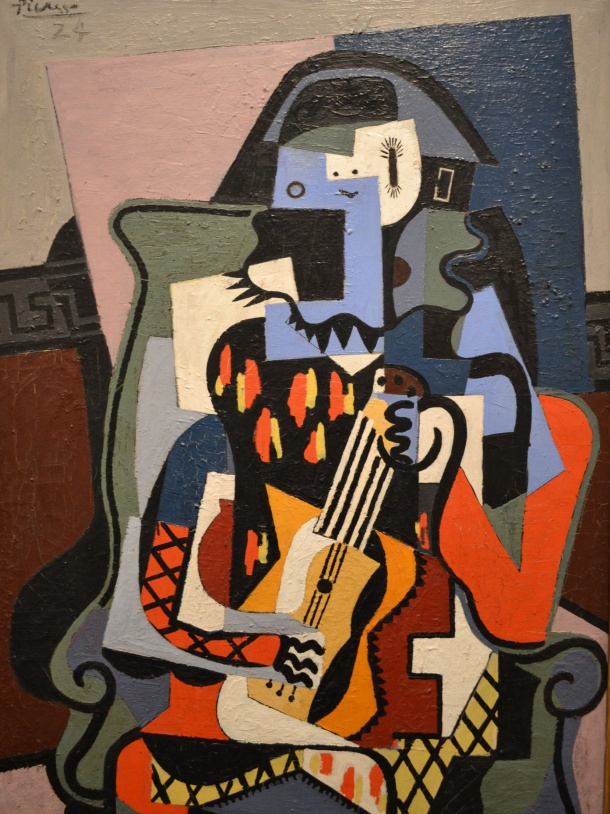Picasso's Harlequin Musician, 1924