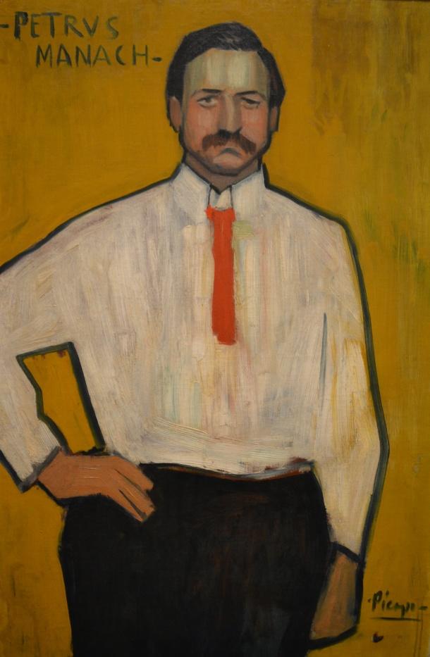 Picasso's Pedro Manach, 1901