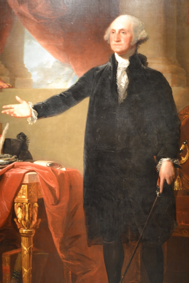George Washington's portrait saved in the War of 1812