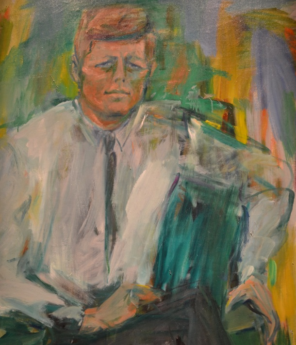 President John F. Kennedy's portrait