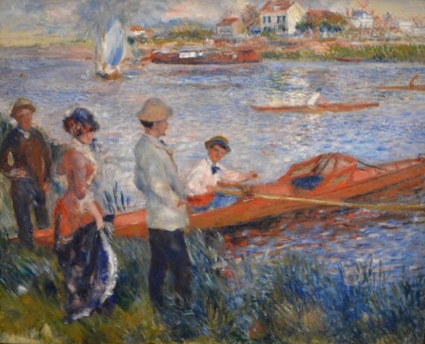 Renoir's Oarsman at Chatou, 1879