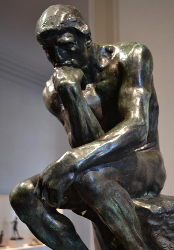 Rodin's The Thinker, 1840