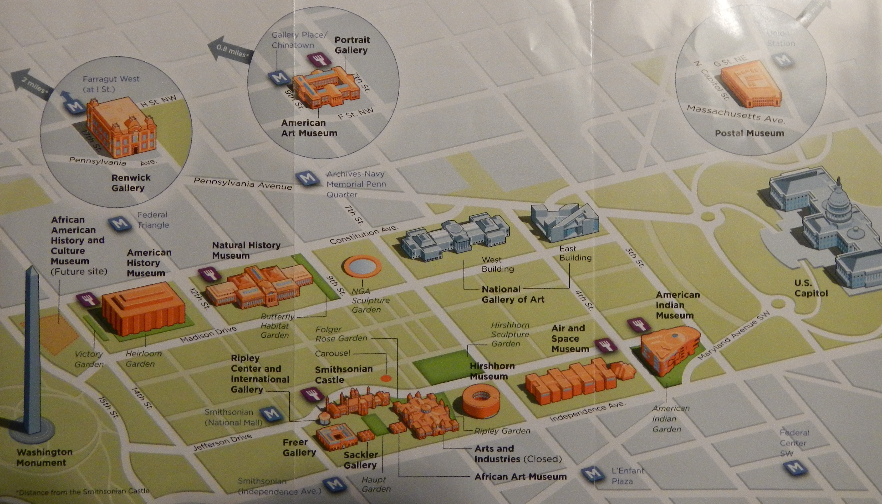 Washington Dc Map National Mall%0A My guide to the smithsonian museums part one