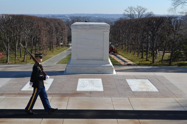 The Old Guard at the Tomb of the Unknowns