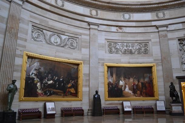 Paintings in the U.S. Capitol's Rotunda