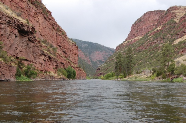 Utah Flaming Gorge Cloudy Green River