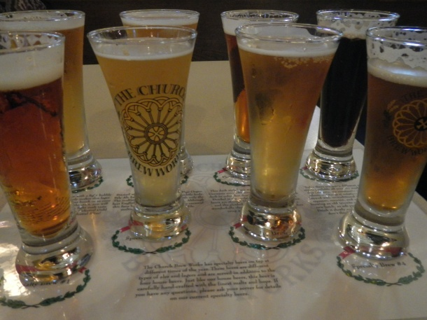 The golden brews of Pittsburgh's Church Brew Works
