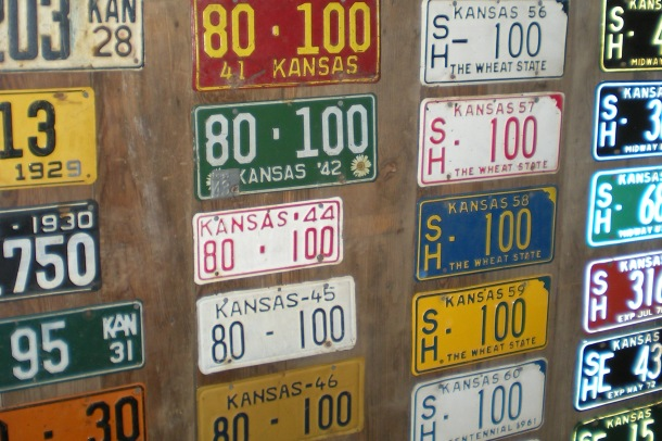 Finding license plates