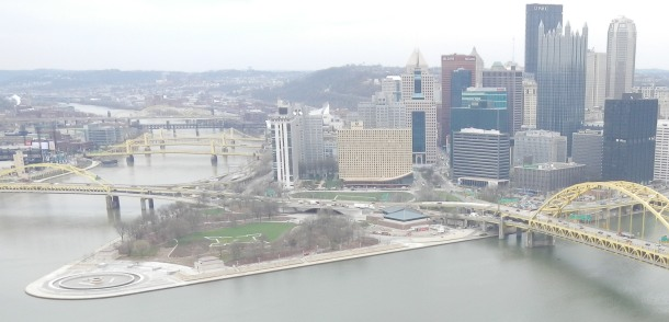 Downtown Pittsburgh and Point State Park