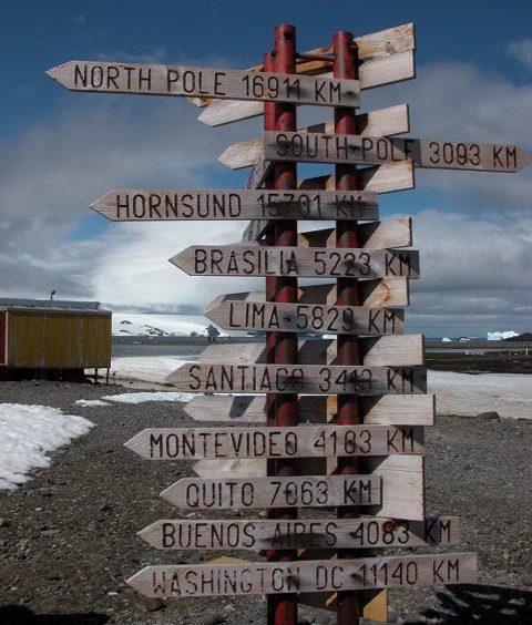 Which way from Arctowski?