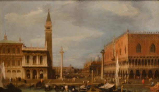Canaletto's Venice, 1724