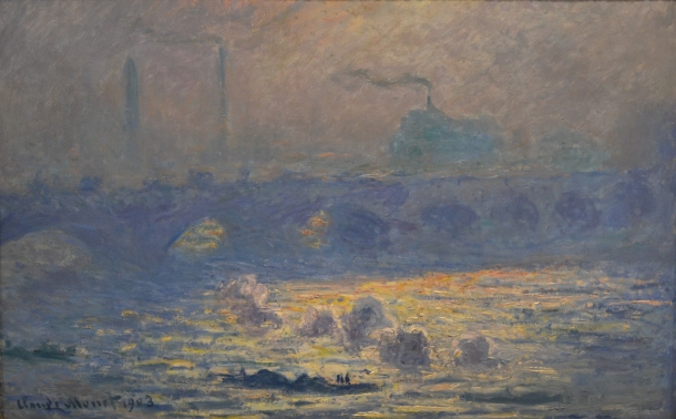 Monet's Waterloo Bridge, 1903