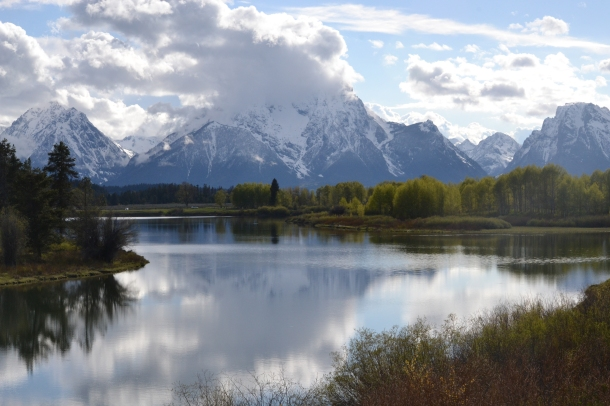Grand Tetons National Park Oxbow Bend Overlook Wyoming