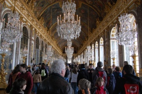 Hall of Mirrors Palace of Versailles France