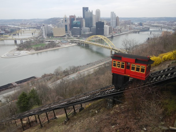 Riding the Duquesne Incline