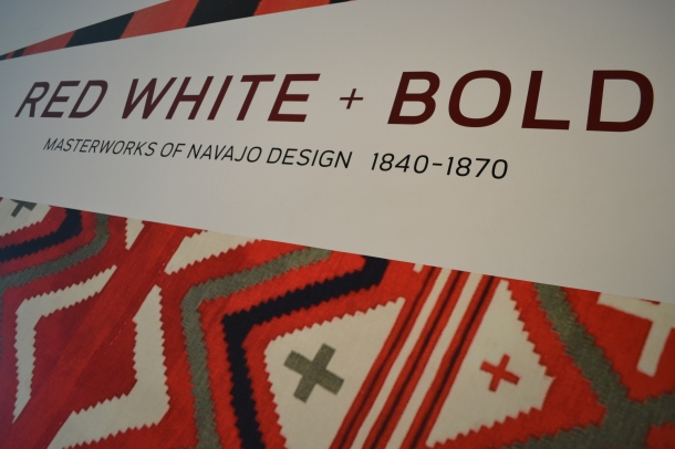 Red, White, and Bold - Navajo Design