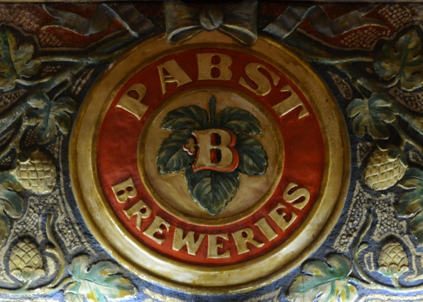 The old Pabst Brewery logo with a B for Best