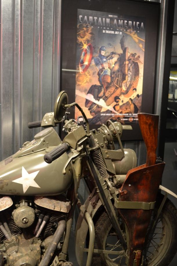 Captain America's movie motorcycle