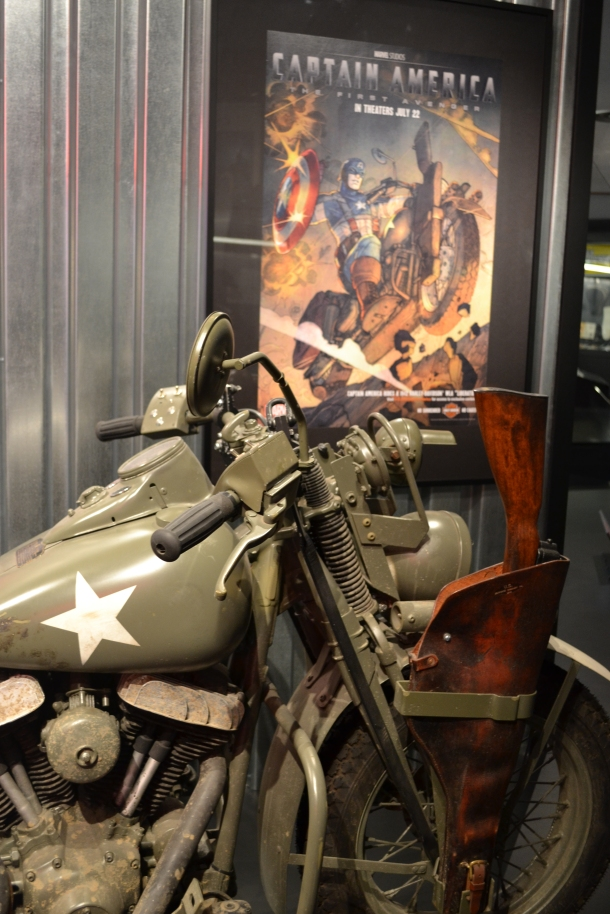 Captain America's movie motorcycle