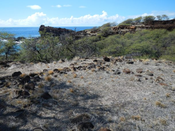 The ruins of King Kamehameha's summer home