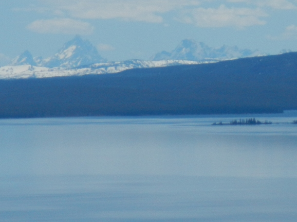 The Tetons and Yellowstone Lake