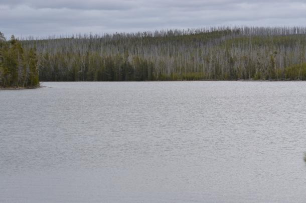 Loving the view at Ice Lake