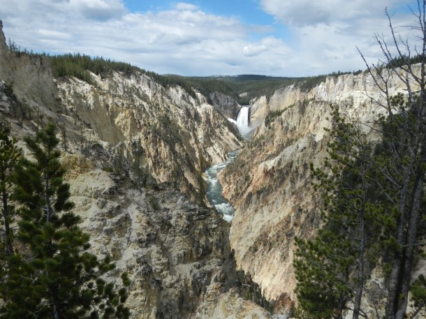 The Lower Falls and the Grand Canyon of the Yellowstone