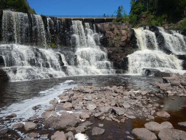 The easily accessible lower falls
