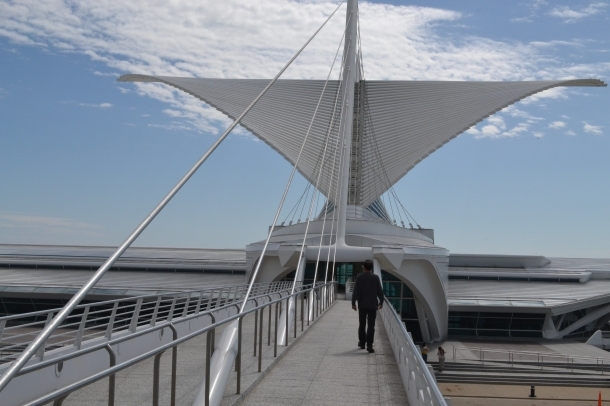 The Milwaukee Art Museum's sails