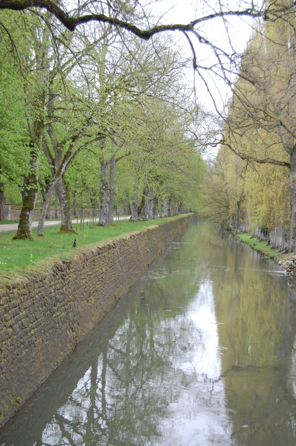 A canal near the Chateau de Chenonceau