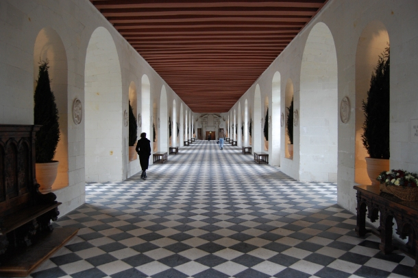 Inside the Chateau de Chenonceau