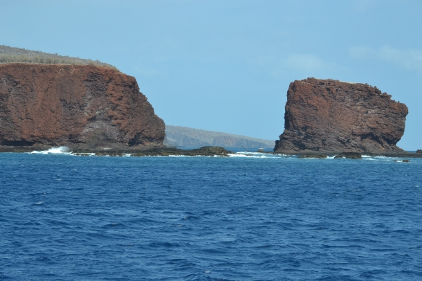 One last look at Sweetheart Rock as we return to the bay