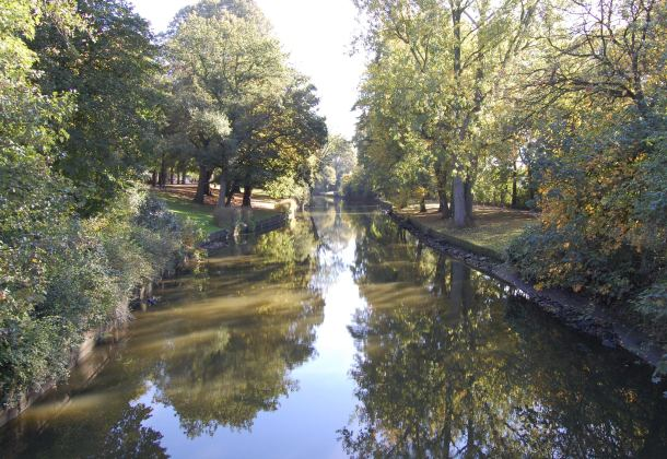 A reflective canal in Bruges