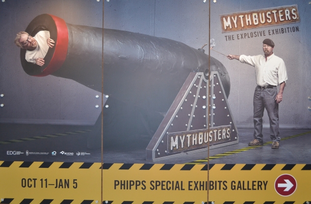 MythBusters at the Denver Museum of Nature and Science