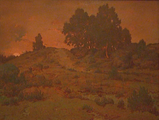 Rousseau's Sunset in the Hills of Jean-de-Paris