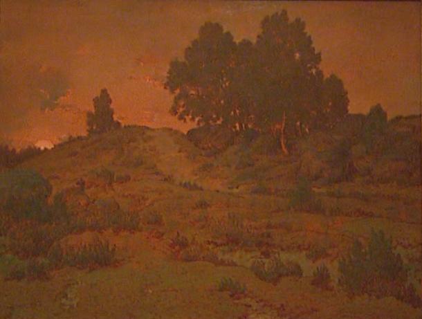 Rousseau's Sunset in the Hills of Jean-de-Paris