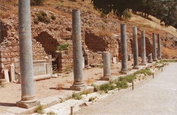 Walking the streets of Delphi