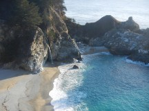 The McWay Falls in the state park
