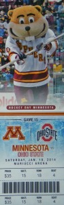 My Hockey Day in Minnesota ticket