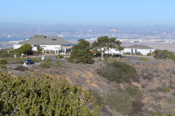 The Cabrillo National Monument Visitor Center