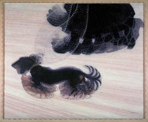 Giacomo Balla's Dynamism of a Dog on a Leash